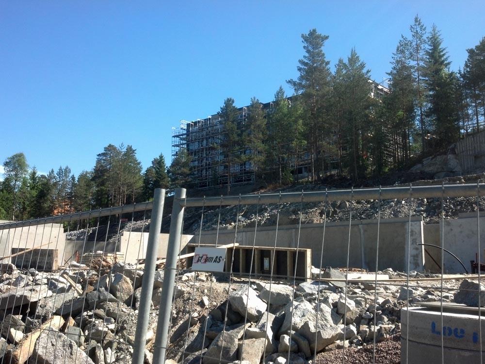 Budowa w Oslo